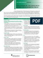 Global Devlopmental Delay Clinicians