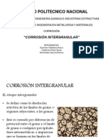 Corrosion Intergranular