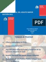 Cuenta Publica 2011 SENAMA