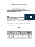 Valores Multiples de La Tasa de Retorno1