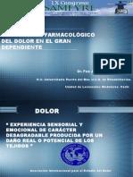 TRATAMIENTO FARMACOLÓGICO  DEL DOLOR EN EL GRAN DEPENDIENTE