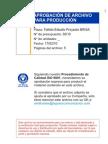 Folleto Estudio Proyecto BRISA