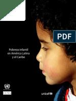Libro Pobreza Infantil America Latina 2010