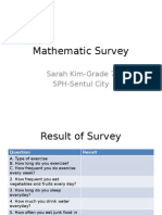 mathematic survey