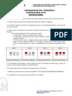 Examen Instalador de Gas A