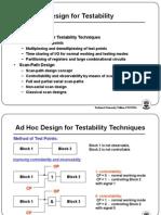 ATPG - 3 Testability Design