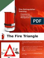 Fire Extinguisher Training Safety