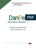 Danper Reporte Sostenibilidad 2013 Gri