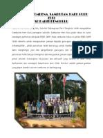 Laporan Sambutan Hari Guru 2015