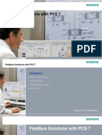 Fieldbus Solutions With PCS 7 and PROFINET