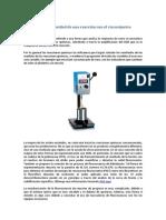 Estudio de La Viscosidad de Una Reacción Con El Viscosímetro Dinamico