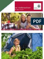 campingkort over  Niedersachsen