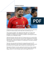 Kop Skipper's Christmas Contract