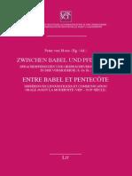 von Moos, Peter - Zwischen Babel und Pfingsten