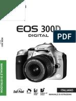 Eos300d manuale