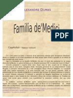Alexandre Dumas - (1845) Familia DeMedici