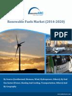 Renewable Fuels Market (2014-2020)
