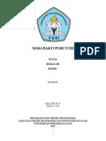 Materi Ttg Masa Bakti PGRI XVIII