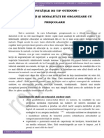 Implementarea Educatiei Nonformale in Educatia Formala Prin Intermediul Activitatilor Outdoor