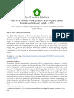 ODO Press Release