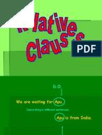 GRAMMAR Relative Clauses