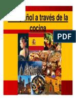 El Español a Través de La Cocina