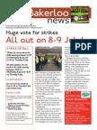 Bakerloo News (July 2015 Strike Special)