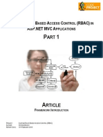 RBAC Framework Introduction