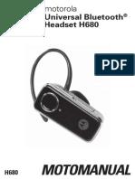 Motorola Gold Headset H680 GB en UG