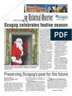 The Scugog Historical Observer - Winter 2008 Edition