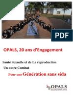 Brochure OPALS 20 ans 2015