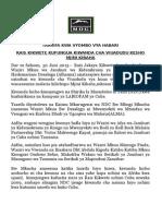 Rais Kikwete Kufungua Kiwanda Cha Viuadudu Kesho Mjini Kibaha