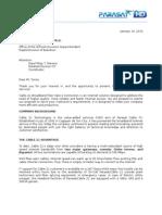 Internet sample proposal - Deped