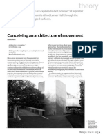 Architecture of movement