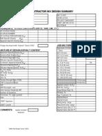 Mix Design Forms