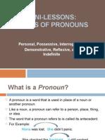 Pronoun PowerPoint 11.15.11