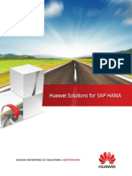 SAP HANA Appliance Brochure