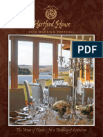 Hartford House Wedding Package 2016