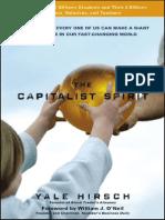 The Capitalism Spirit 0470407379