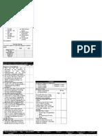 Field Questionnaire