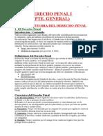 DERECHO PENAL I RESUMEN 1ER PARCIAL + CLASES (1)
