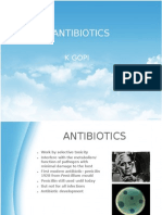 Antibiotics, Hospital Acquired Infection & Time Of