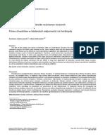 Fitness Chwastów w Badaniach Odporności Na Herbicydy