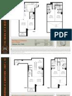 4 Midtown Miami - 3 Bedroom Floor Plans