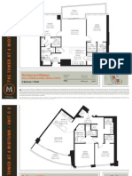 4 Midtown Miami - 2 Bedroom Floor Plans