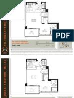 4 Midtown Miami - 1 Bedroom and Studio Floor Plans