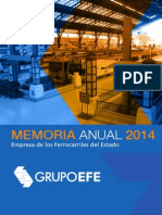Memoria 2014 EFE chile