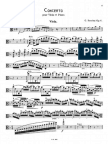 Szeremi, Viola Concerto Op6 Viola Part