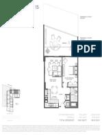Baltus House - 1 Bedroom Floor Plans