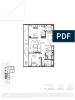 Baltus House - 2 Bedroom Floor Plans